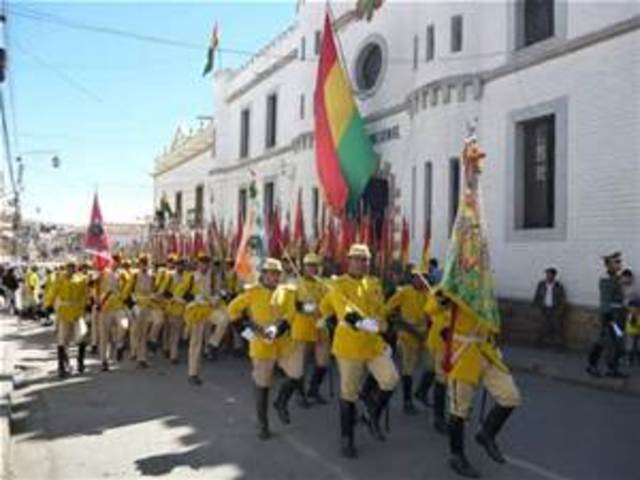 Bolivia Independence
