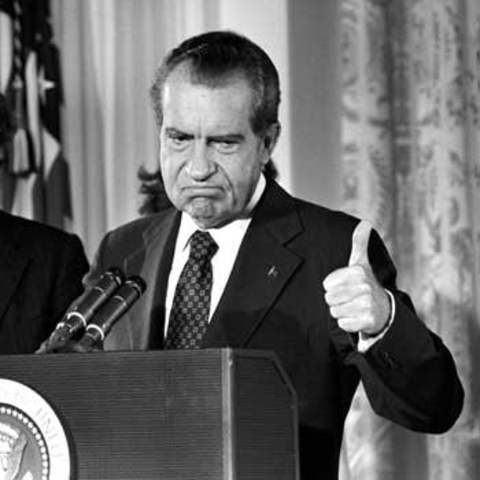 President Nixon Orders Troops to Cambodia