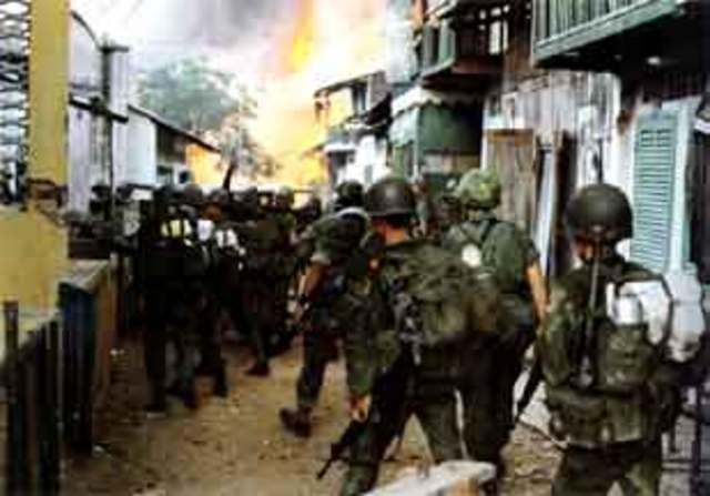 North Vietnam Enacts Offensive on South Vietnam