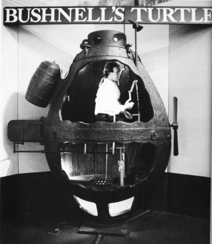 The First Military Submarine