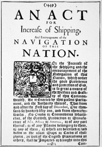 Navigation Acts and Vice-Admiralty Courts