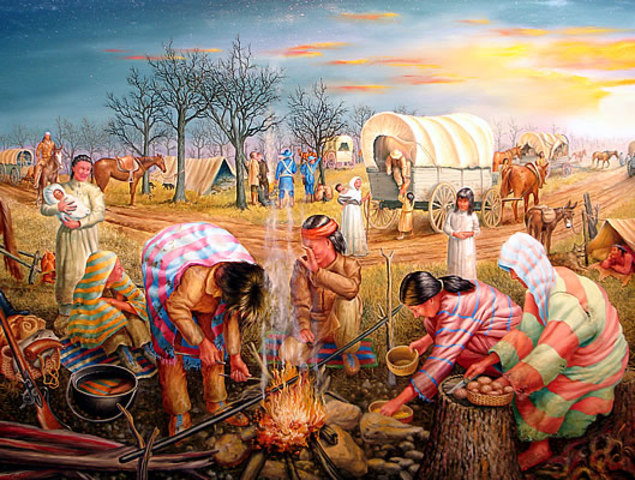 Indian Removal Act/ Trail of Tears