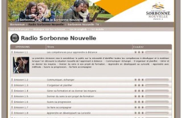 Inicia Transmisão de aulas por a Rádio Sorbonne
