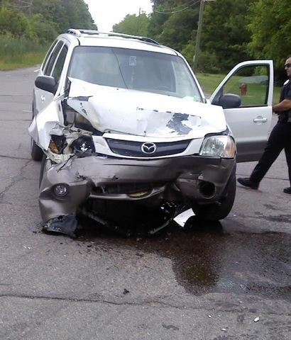 1st Car Accident