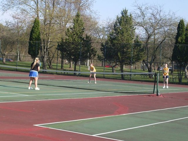 Started Varsity Tennis