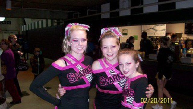 Started Competitive Cheer