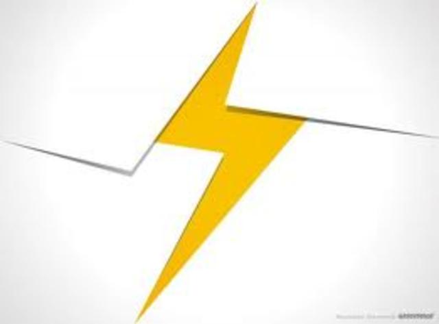 electricity (date not exact)