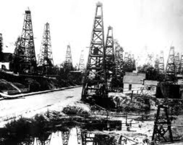 Petroleum (for modern uses)