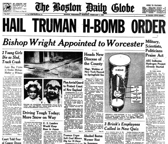 Truman Orders Bombings