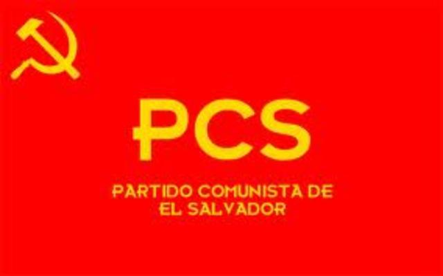 Partido Comunista del Salvador.