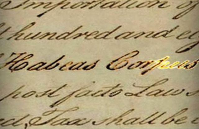 Lincoln's Suspension of Civil Liberties