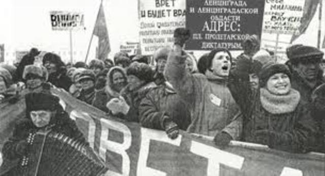 Dissolving of the Soviet Union