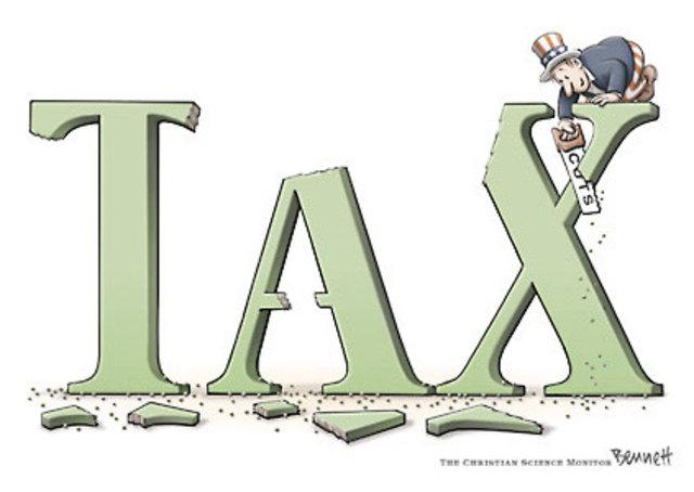 Johnson slashes Taxes