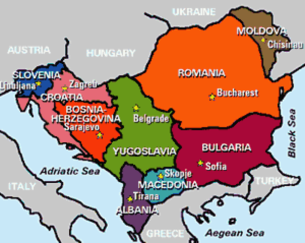 """The """"Powder Keg"""" Of Europe"""