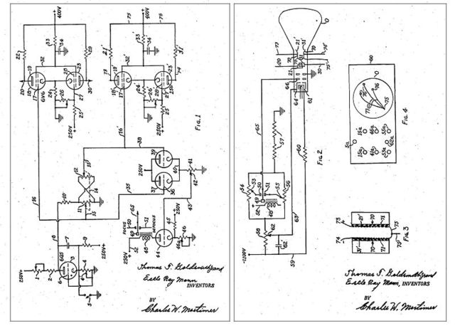 Cathode Ray Tube Amusement Device created