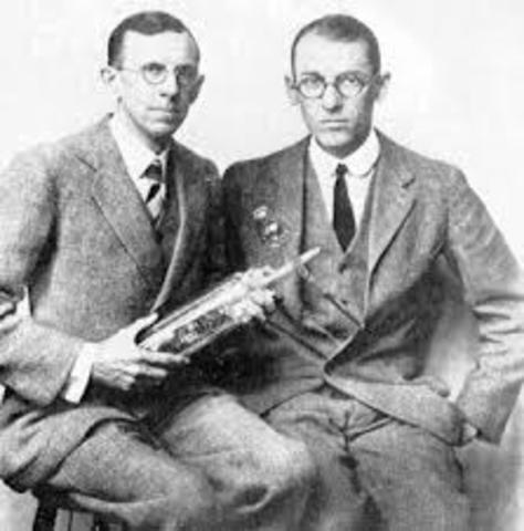 Clinton Davisson y Lester Germer