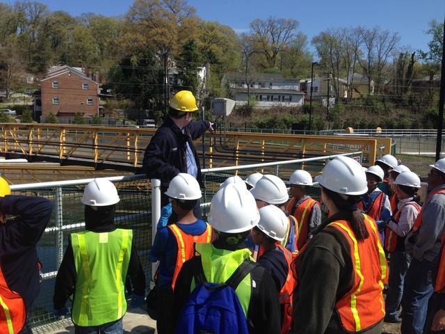 5th Grade water treatment field trip