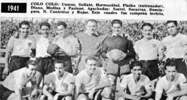 Campeonato de Primera División 1941