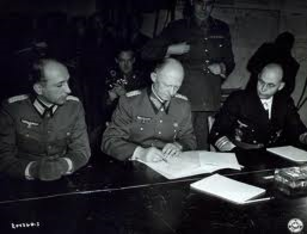 Germany's Unconditional Surrender