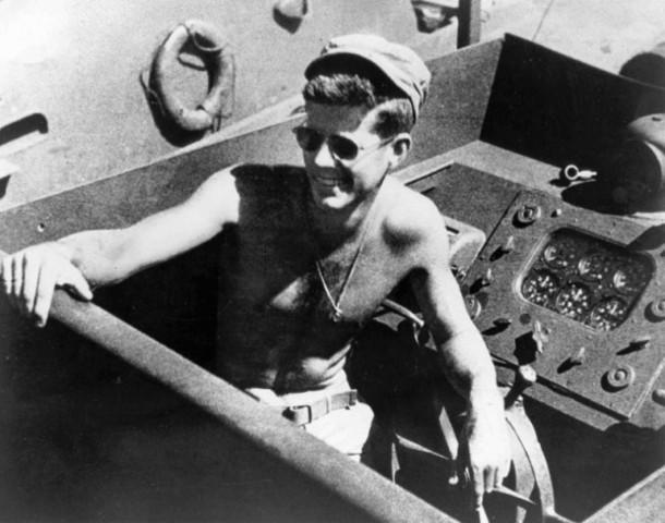 John F. Kenedy join the U.S. Navy