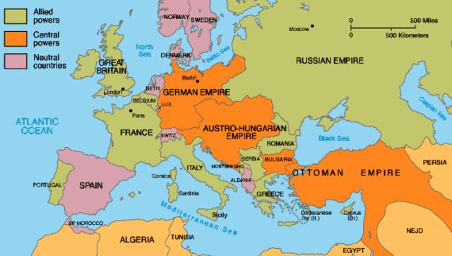 Allies/ Allied powers