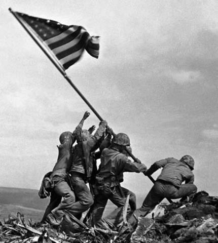 Battle of Iwo Jima and Battle of Okinawa