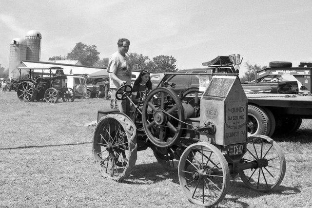 Gasoline Tractor