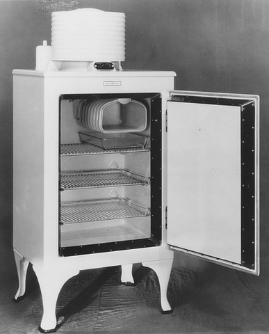 The First Frigidaire Refrigerator is Produced