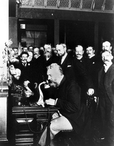 First transcontinental Telephone Call