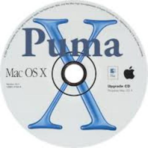 Mac OS X v10.1: «Puma»