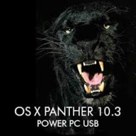 Mac OS X v10.3 «Panther»
