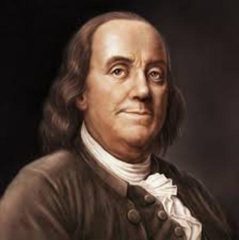 Ben Franklin Steps into Philadelphia