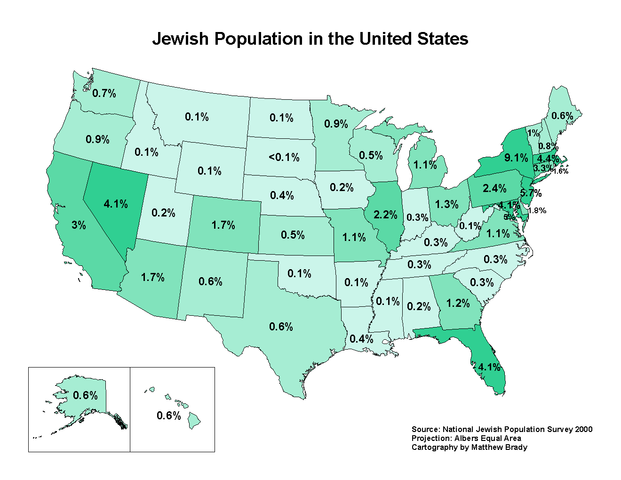 Jews Settled in the Colonies