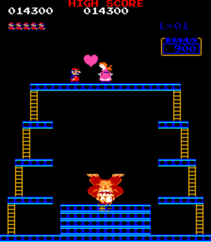 Donkey Kong released