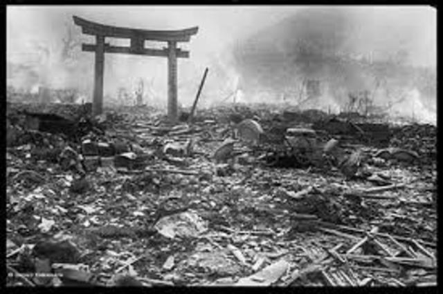 Atomic bombing of Nagasaki Japan