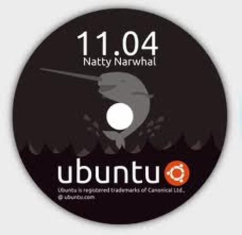 Ubuntu 11.04 (nombre clave Natty Narwhal - Narval Elegante)