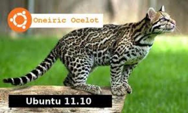 Ubuntu 11.10 (nombre clave Oneiric Ocelot - Ocelote Onírico)