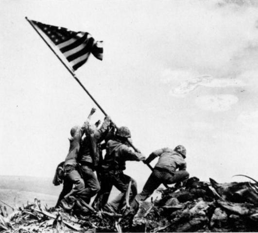 American Capture of Iwo Jima