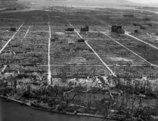Atomic bombing of Hiroshima & Nagasaki