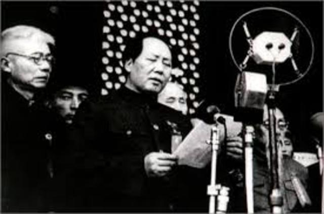 Mao Zedong  and the People's Republic of China