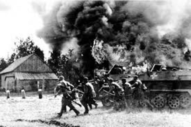 German Blitzkrieg of USSR
