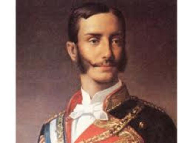 Alfonso proclamado rey de España
