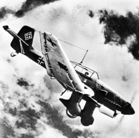 German Blitzkreig on Soviet Union