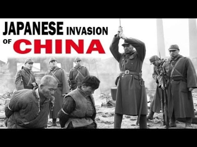 japan's invasion on china