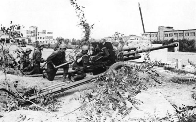 German Blitzkrieg on the Soviet Union