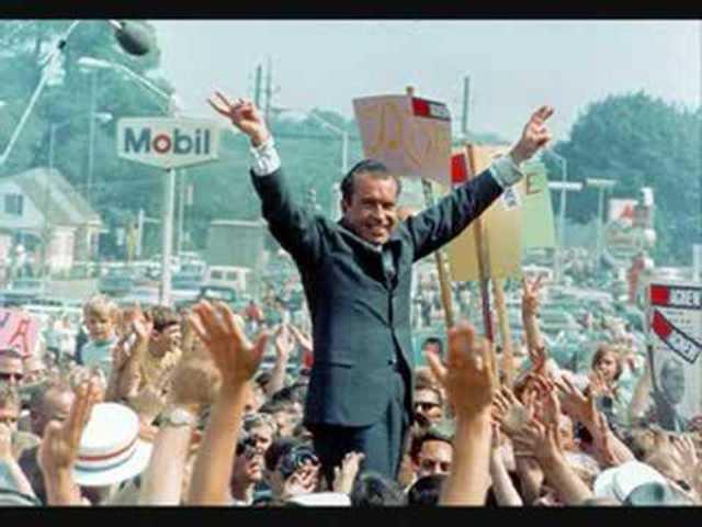 Nixon wins by a landslide!