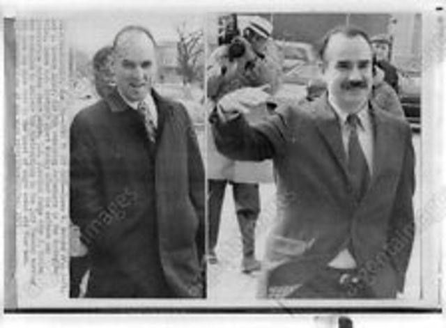 Two former Nixon officials are convicted of conspiracy