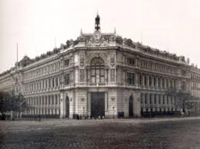 Creación Banco Nacional de San Carlos