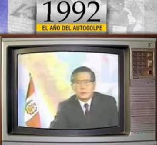 "5 de abril: ""Autogolpe de Estado""."