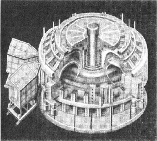 Установка для термоядерных реакций